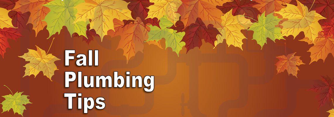 Fall Plumbing Tips